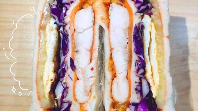 #丘比三明治#五分钟&鸡胸肉三明治的做法