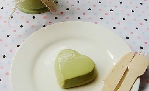 抹茶豆腐布丁的做法