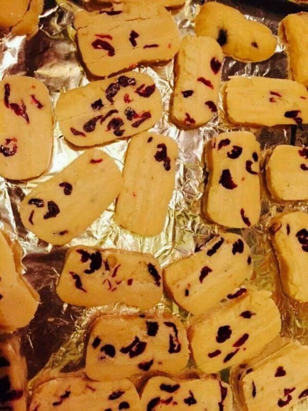椰子油蔓越莓饼干