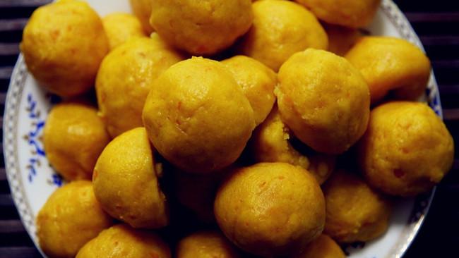 南瓜玉米面窝头(黄金窝头)的做法