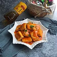 茄汁豆腐#金龙鱼外婆乡小榨菜籽油,我要上春碗#
