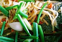 傣味香茅草酸笋煮鱼的做法