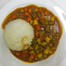 超简单 咖喱牛肉土豆