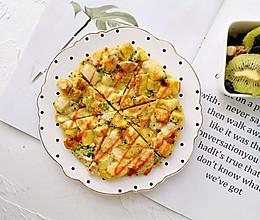 馒头这样吃—西兰花虾仁馒头鸡蛋饼的做法