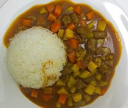 超简单 咖喱牛肉土豆的做法