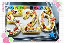 八寸戚风蛋糕(详细版生日蛋糕)的做法
