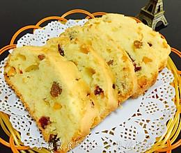 水果干磅蛋糕的做法