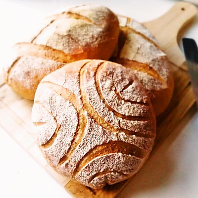 「欧包」经典英式布鲁姆面包 English bloomer