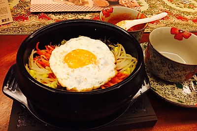 石锅拌饭(韩国azuma亲口传授)