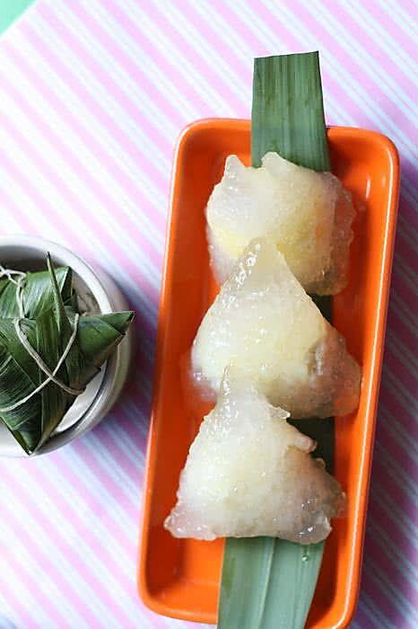 另类粽子-椰蓉西米粽