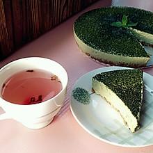 抹茶豆腐芝士冻