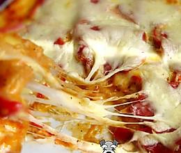 自制萨拉米披萨PIZZA的做法