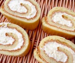 只有4个鸡蛋热量的万能蛋糕卷可蛋断生酮食谱的做法