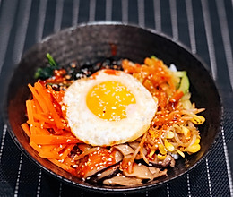 一人食~韩式石锅拌饭的做法