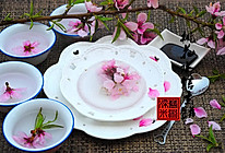 桃花水信玄饼——冰粉的做法