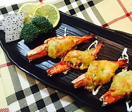 私味食光[百里香芝士焗虾]第十集的做法