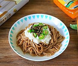 #福临门鲜爽见面#低脂荞麦拌面的做法