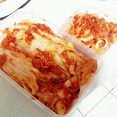 夏日韩国辣白菜