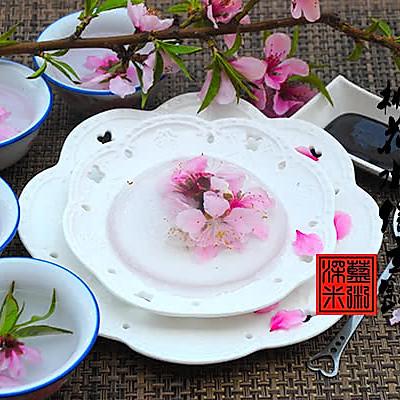 桃花水信玄饼——冰粉