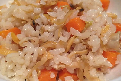 蛤蜊蚝油饭