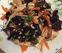 夏日开胃小菜一一凉拌木耳腐竹的做法