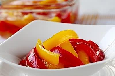 酸甜柿子椒