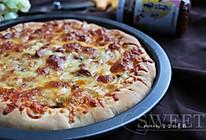 双酱培根披萨的做法