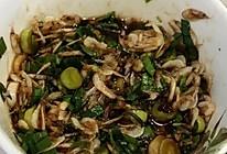 蒜苗拌虾皮的做法