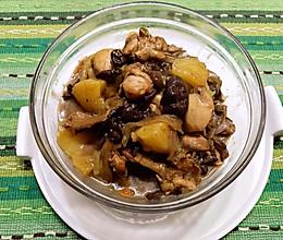 地道的东北菜-鸡腿炖红蘑的做法