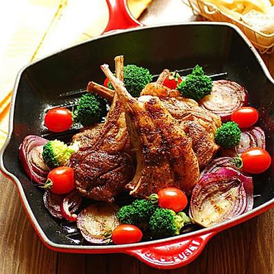 【变厨神】香煎羊扒  浪漫烛光晚餐怎么少的了它