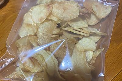 凉后也很脆的薯片