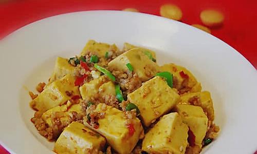 下饭菜--肉末烧豆腐的做法