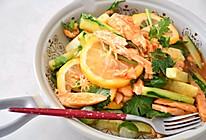 #夏日开胃餐#泰式甜辣鸡胸肉沙拉的做法