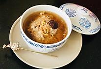 春日菜谱之虫草花炖肉饼汤的做法