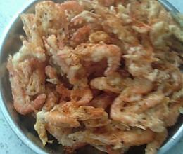 炸小虾的做法