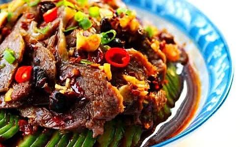 香辣拌牛肉的做法