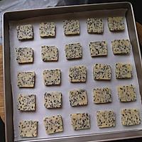 黑芝麻饼干#美的烤箱菜谱#的做法图解9