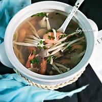 菌味海鲜汤的做法图解8
