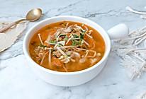 #橄榄中国味 感恩添美味#金针菇酸汤肥牛卷的做法
