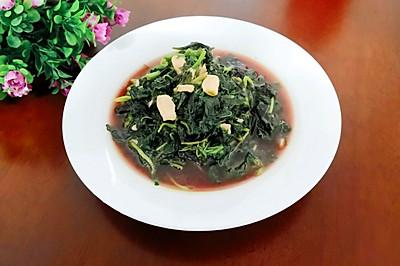 #花10分钟,做一道菜!#蒜香苋菜