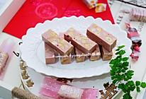 粉色蓝莓牛轧糖的做法