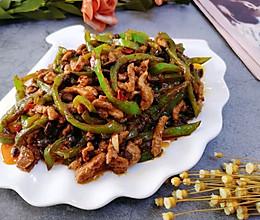 #福气年夜菜#青椒肉丝的做法