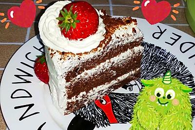 家庭黑森林蛋糕