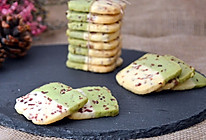 双色蔓越梅饼干的做法