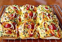 手揉面包(三)香肠小面包的做法