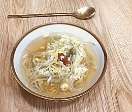 韩式豆芽汤(3-4人份)的做法