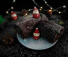 树桩蛋糕,预热圣诞节的做法