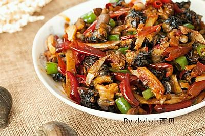 泡椒田螺肉-领略川南大排档的味道