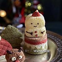 圣诞戚风蛋糕