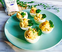 金枪鱼鸡蛋杯沙拉#丘比沙拉汁#的做法